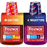 Tylenol Cold + Flu Severe Daytime & Nighttime Liquid Cough Medicine, 2 ct. of 8 fl. oz