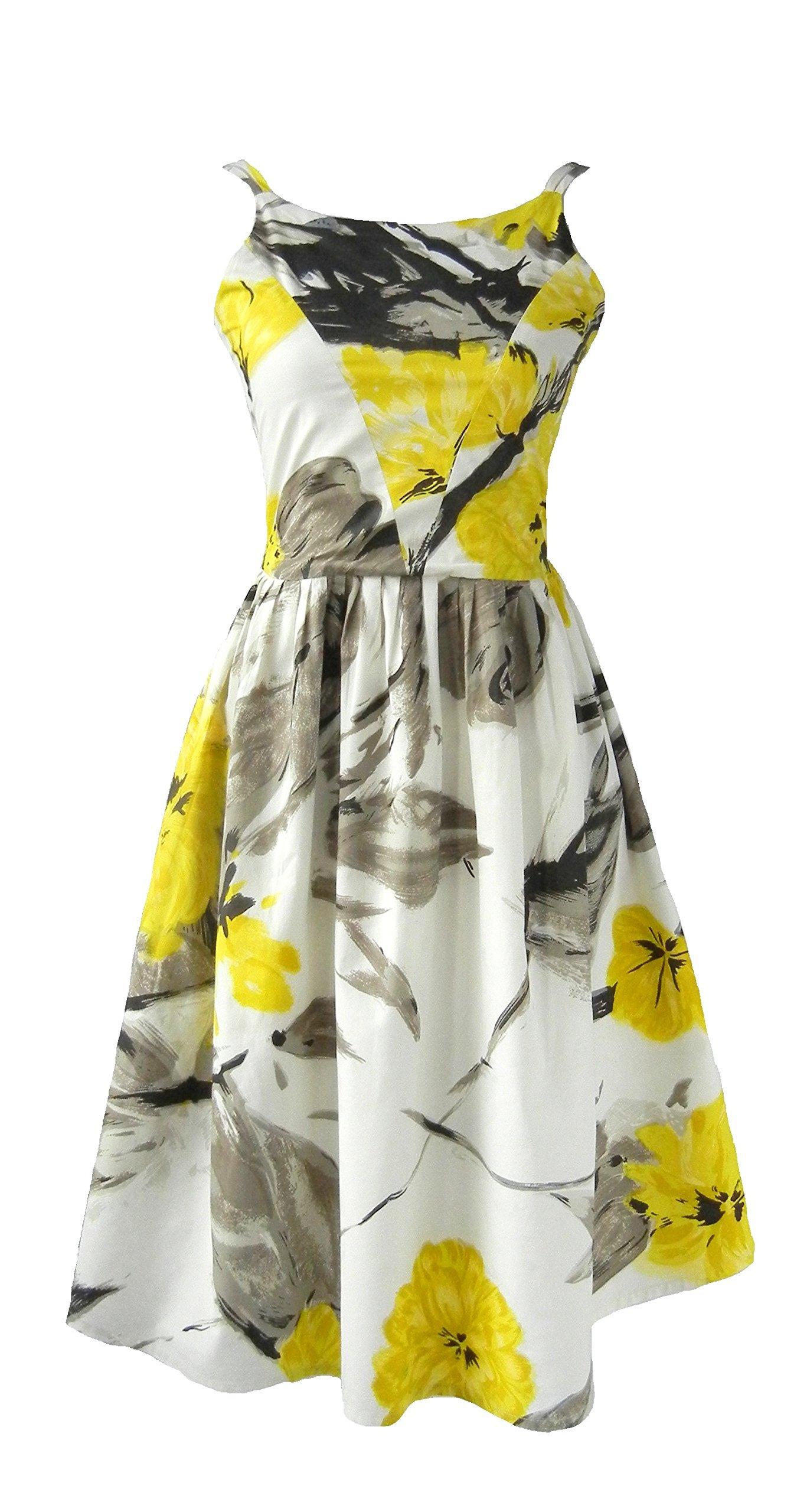 1950s Vintage Style Pin Up Rockabilly Sun Dress