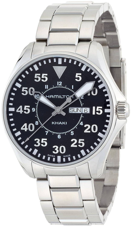ハミルトン (HAMILTON) 腕時計 Khaki Pilot 42mm H64611135 メンズ [正規輸入品] B0038YY99I