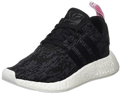 lowest price cbed4 c0c44 Adidas NMD R2 Basket Mode Femme Noir Core Black Wonder Pink, 36 EU