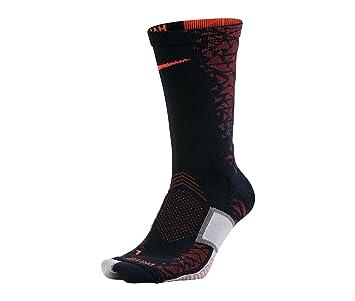 Nike Match Fit Elite Hyper Venom Crew Calcetines, azul oscuro / rojo: Amazon.es: Deportes y aire libre