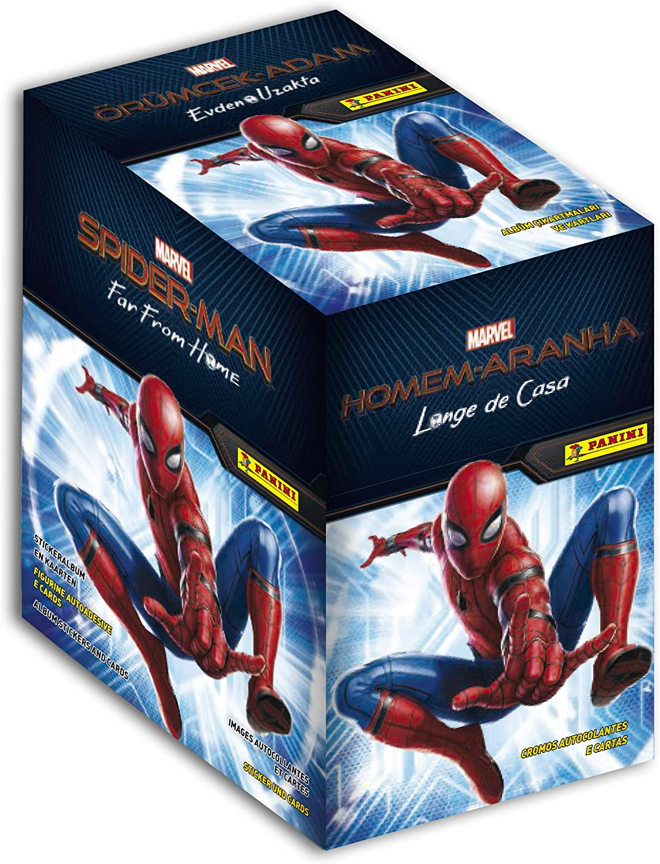 Panini- Marvel Spiderman Far from Home 2513-004 - Caja de 50 ...