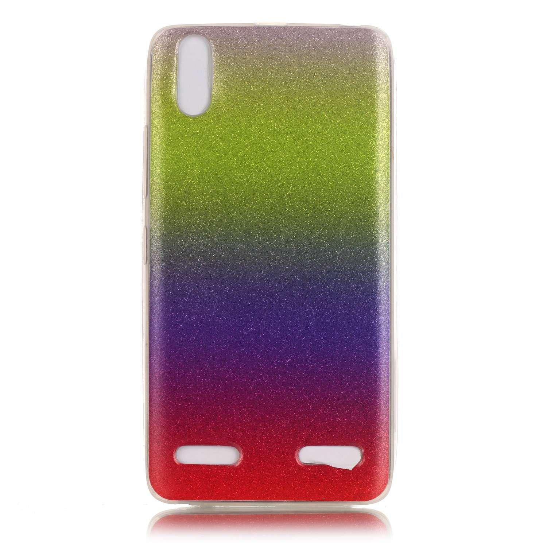 Meet de Slim de Protection Téléphone Case pour Samsung Galaxy A5 (2016) A510, Samsung Galaxy A5 (2016) A510 Bumper Case Coque, (changement graduel) jaune Samsung Galaxy A5 (2016) A510 Slim TPU Transparent Silicone Housse Etui pour Samsung Galaxy A5 (2016)