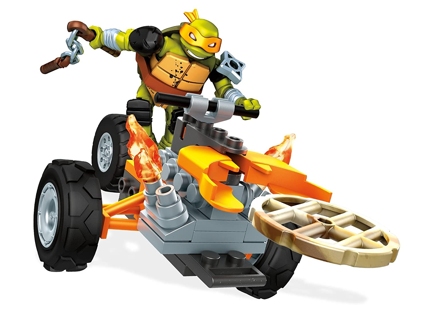 Mega Construx Teenage Mutant Ninja Turtles Mikey Stealth Building Kit