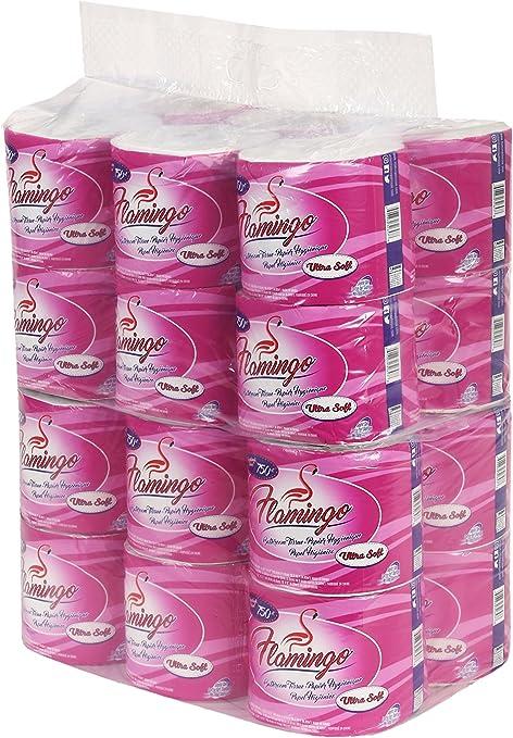 Flamingo Papel Higiénico 48 Unidades Super Rollos Kitchen Dining
