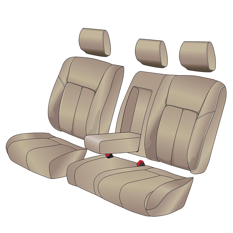 Clazzio 245032tan Tan Leather Seat Cover for Toyota Rav4 Base
