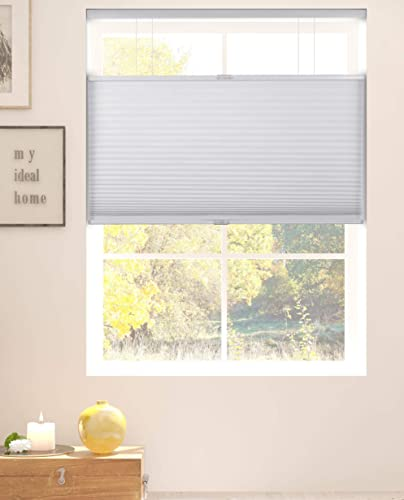 Arlo Blinds White Room Darkening Top Down Bottom Up Deluxe Cordless Cellular Shade