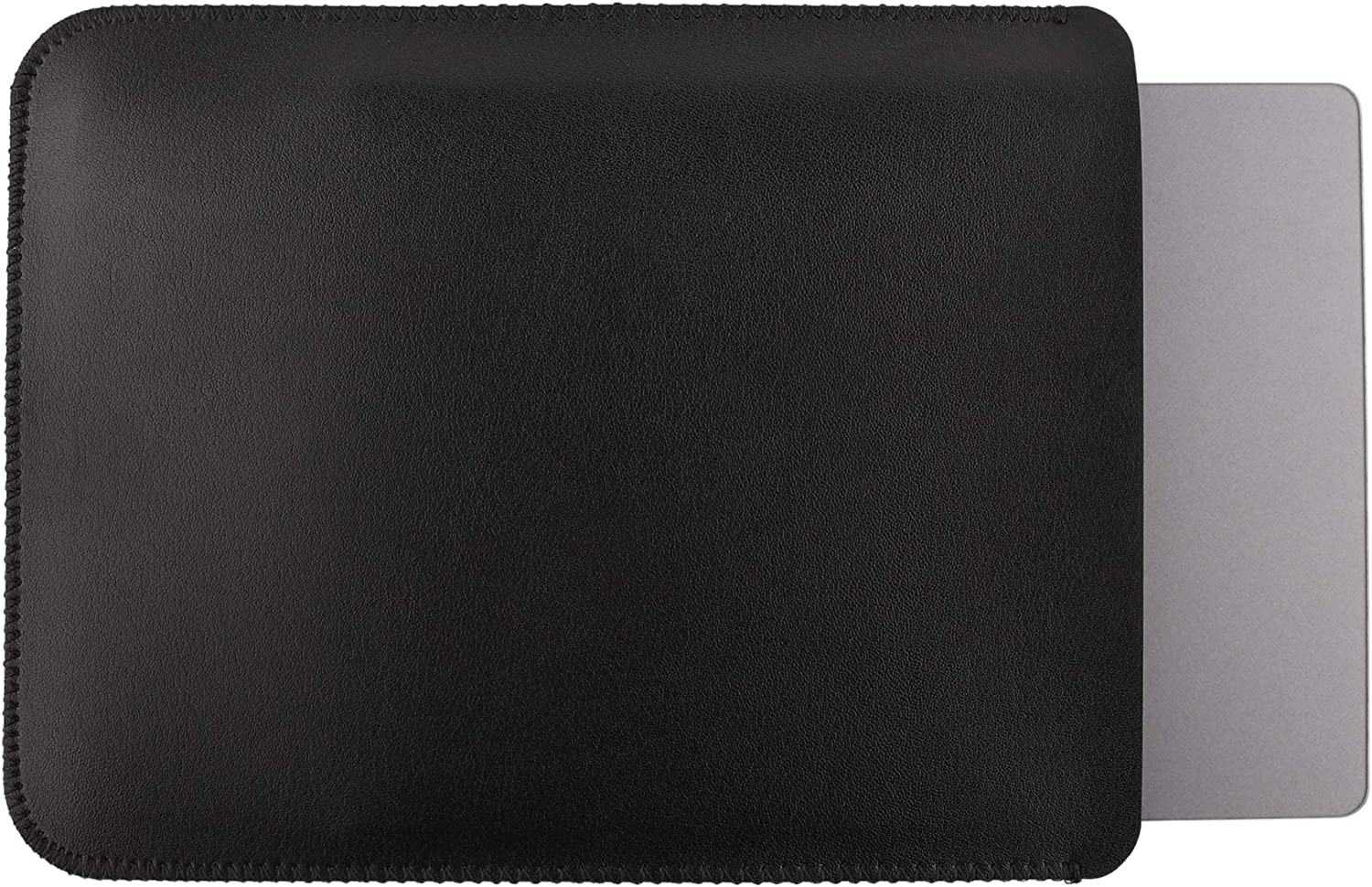 GuardV Leather Series for Apple Magic Trackpad 2 - Protective Sleeve Cover Case Pouch (Black)