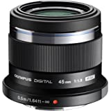 Olympus M.ZUIKO Digital ED 45mm F1.8 (Black) Lens for Olympus and Panasonic Micro 4/3 Cameras