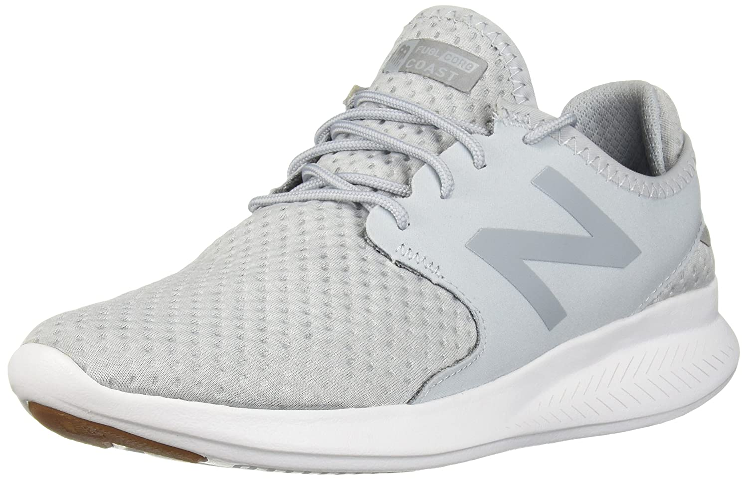 New Balance Women's Coast-V3 Running Shoe B01N9LCB66 9 D US|Light Cyclone/Silver