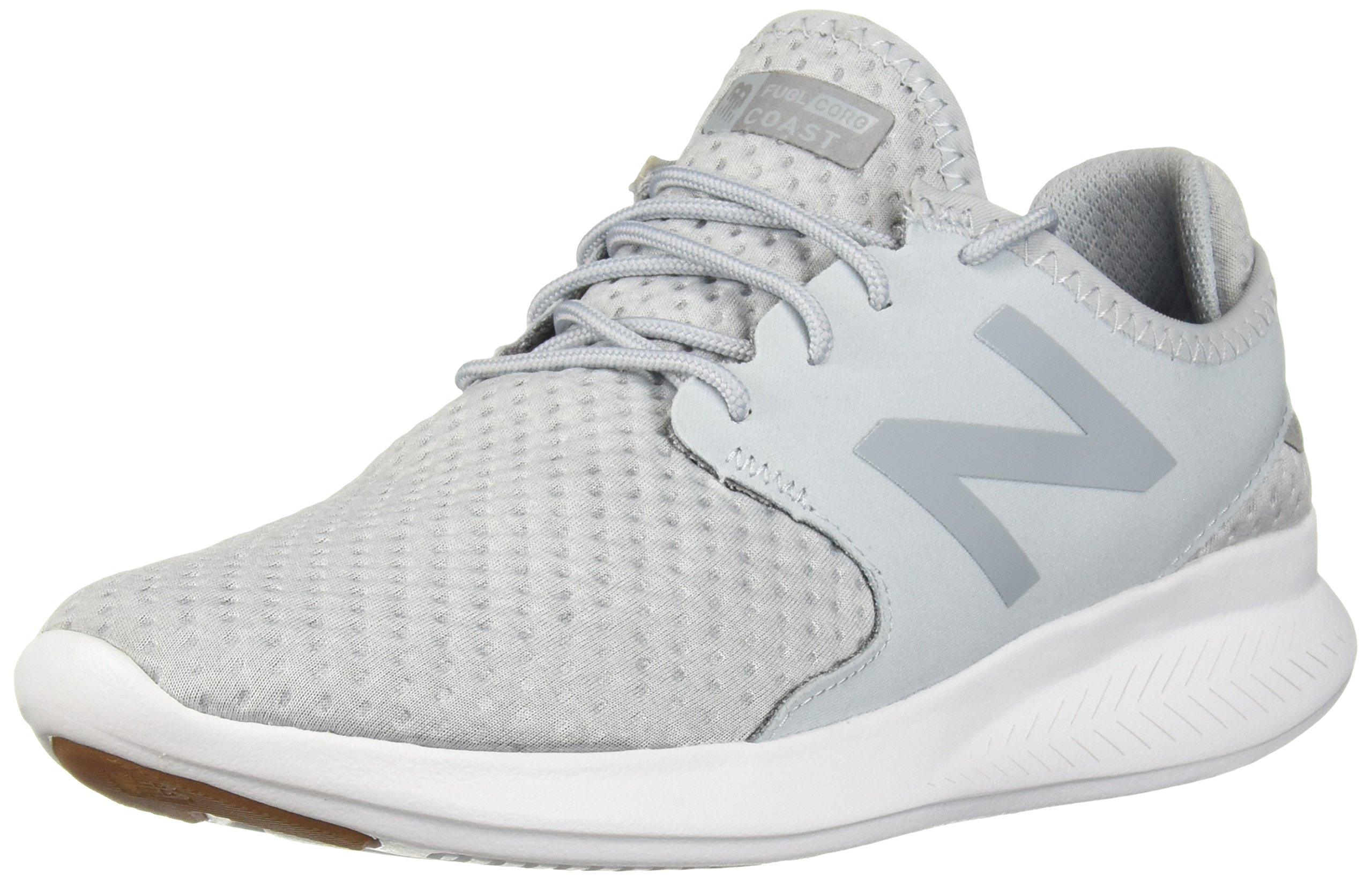 New Balance Women's Coast v3 Running-Shoes,Light Cyclone/Silver,9 B US