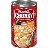 Campbell's Chunky Soup, Creamy Chicken & Dumplings, 18.8 Ounce (Packaging May Vary)
