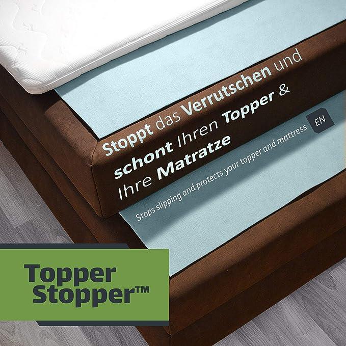 Topper Stopper | Base antideslizante para cama continental ...