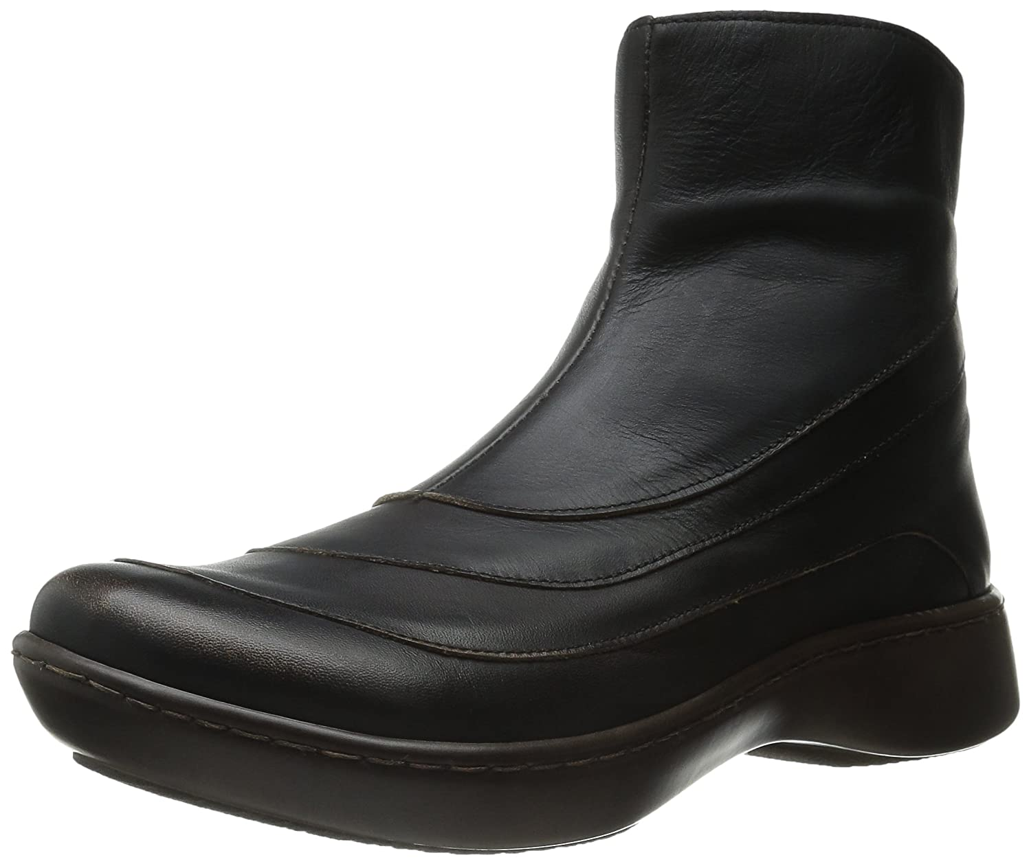 Volcanic Brown Leather Naot Women's Tellin Boot