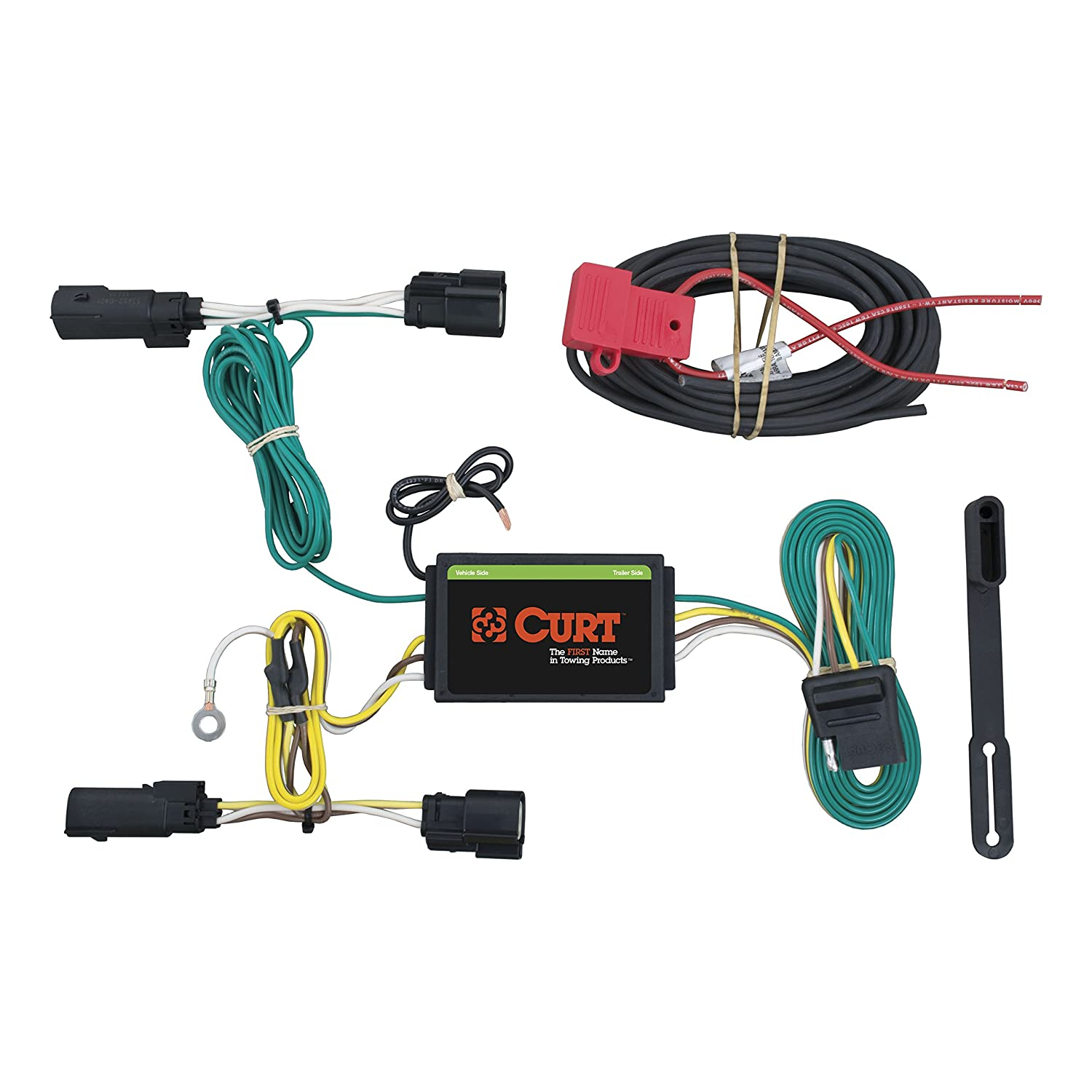 amazon com curt 56249 custom wiring harness automotive rh amazon com curt trailer wiring harness instructions curt trailer wiring harness diagram