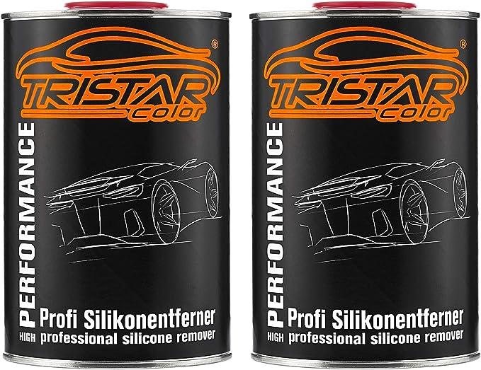 Tristarcolor 2 Liter Silikonentferner Entfetter Reiniger Für Autolack Basislack Ral Lack Grundierung Auto