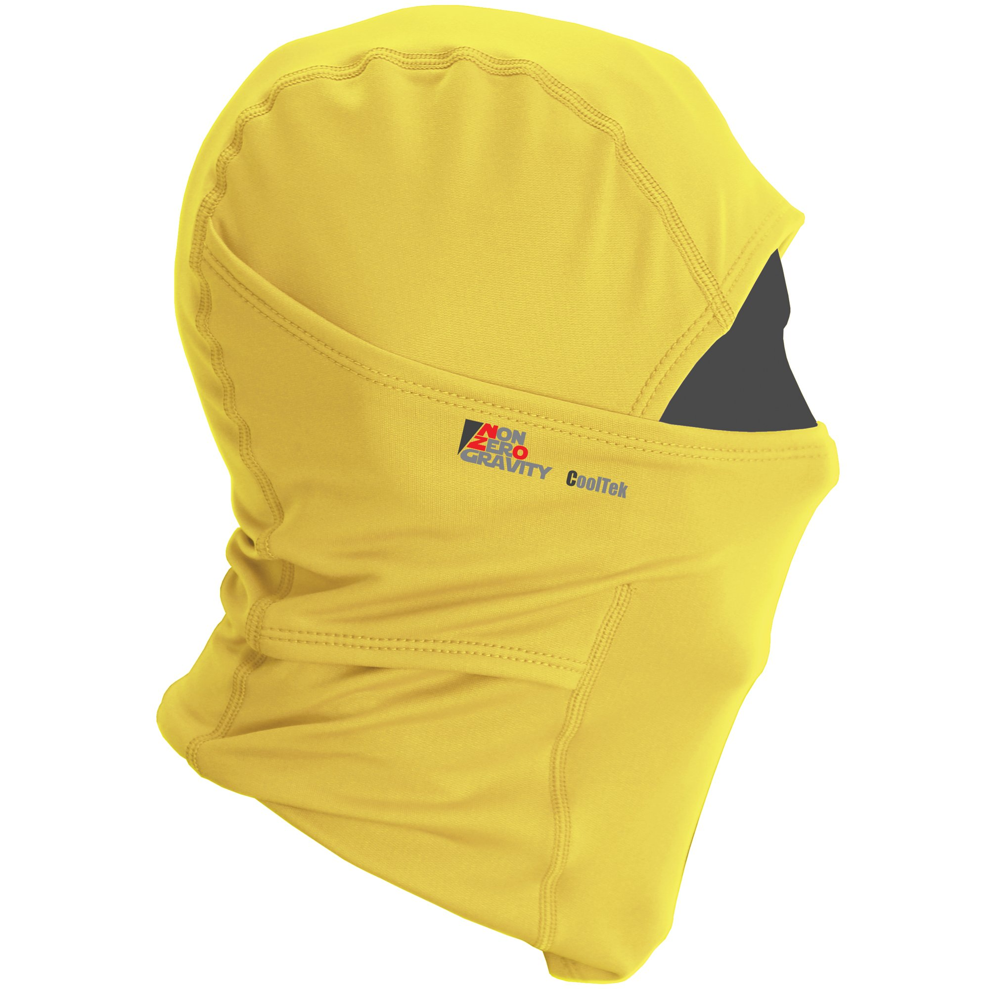 NonZero Gravity Cooling Hood | Tactical Hoodie, Head Wrap And Neck Scarf For Cycling, Biking And Sports (Tactical, Yellow)