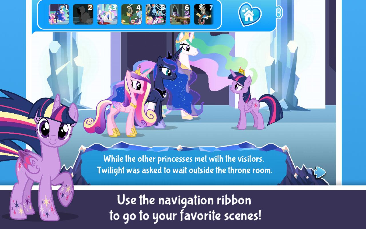my little pony twilights kingdom amazones appstore