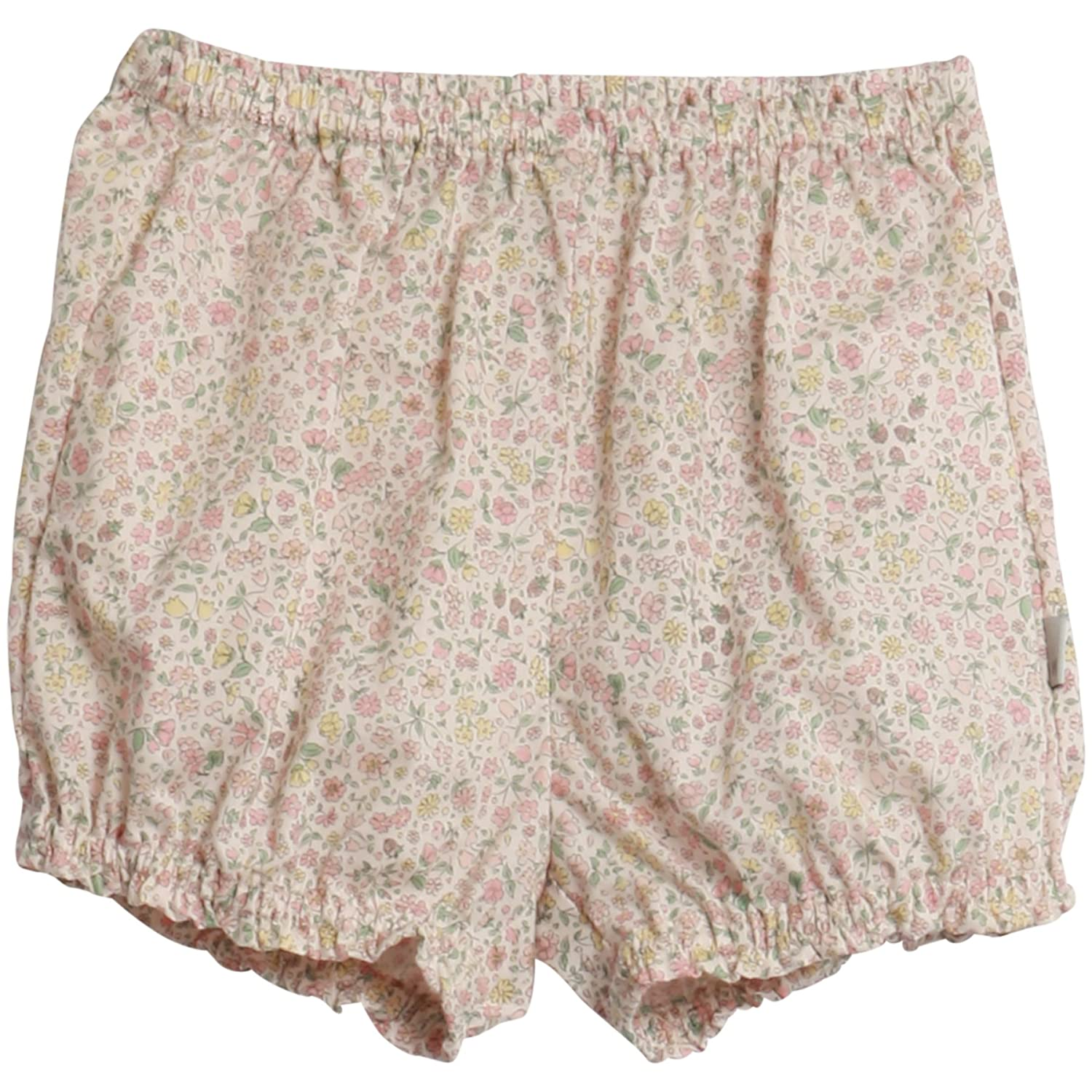 Wheat Baby Girls' Nappy Pants Sally Shorts Pink (Baby Rose 2022) 74 cm 5042-244