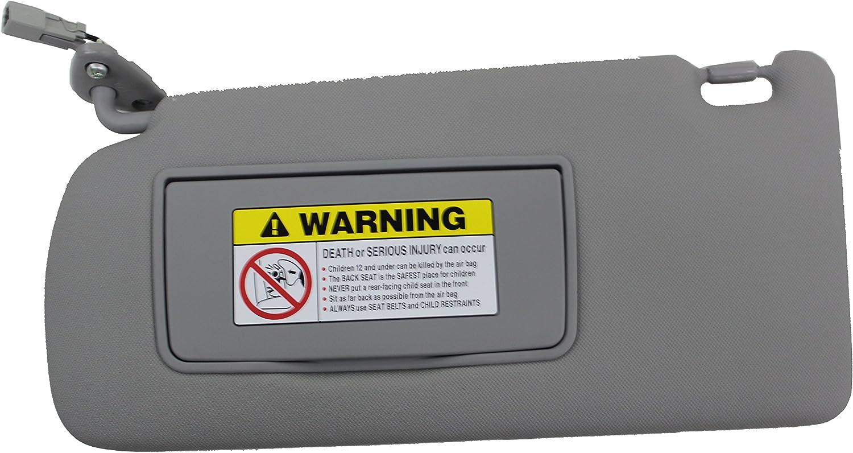 Acura Genuine 83280-STK-A01ZB Sunvisor Assembly