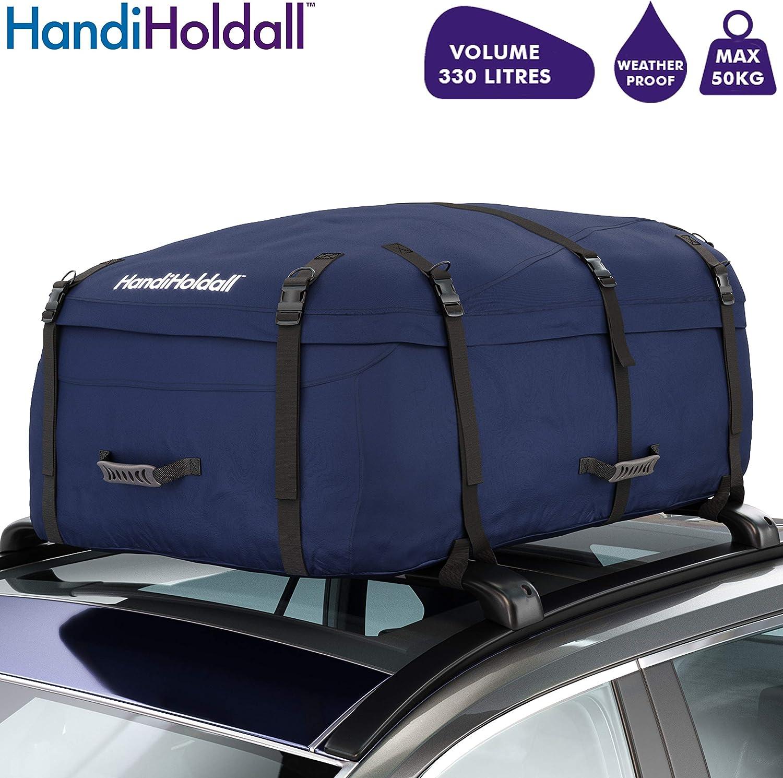 HandiWorld HandiHoldall - Caja de Techo Plegable Resistente a la Intemperie, 330 litros
