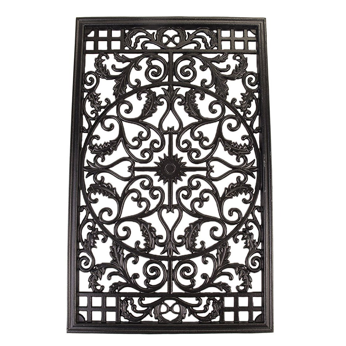 Nuvo Iron RECTANGLE DECORATIVE GATE FENCE INSERT ACW61 Fencing,Fence Gates,Home
