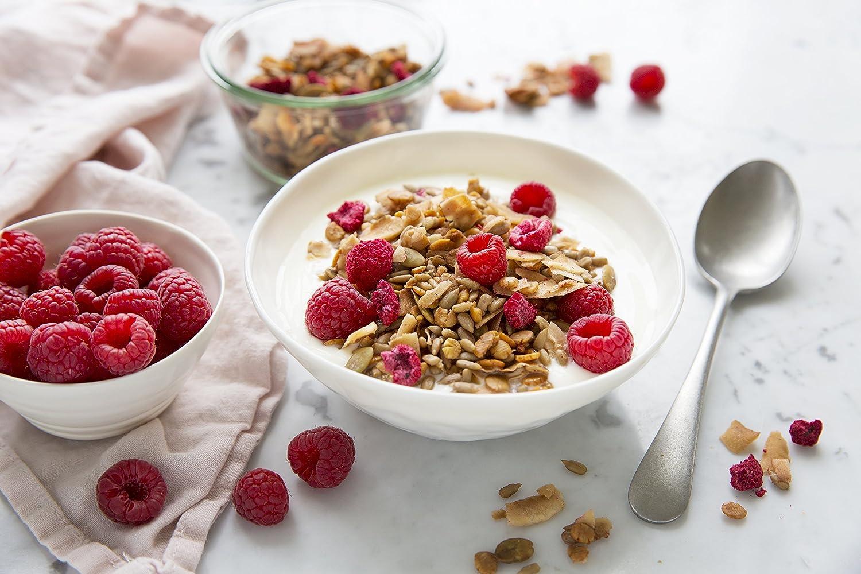 Muesli low carb di CarbZone | Muesli di cereali al cocco e fragola | Snack senza glutine - 500 g: Amazon.es: Alimentación y bebidas