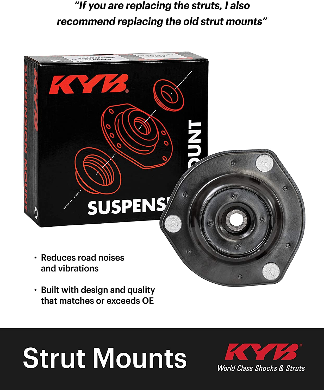 KYB For 12-17 Chevrolet Sonic Suspension Strut Mount Kit Pair Front SM5882 x 2
