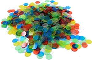 "Regal Games 1,000 Count of 3/4"" Bingo Chips"