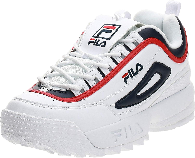 Fila Disruptor CB Low, Zapatillas para Hombre, Blanco (White 1010575-01m), 45 EU: Amazon.es: Zapatos y complementos