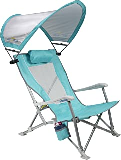 GCI Waterside SunShade Folding Beach Recliner Chair with Adjustable SPF Canopy  sc 1 st  Amazon.com & Amazon.com: Rio Beach MyCanopy Sun Shade: Sports u0026 Outdoors