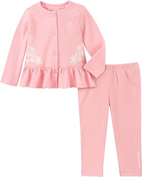 Calvin Klein Baby Girls' Pants Set