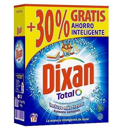 Dixan Detergente Polvo - 72 Lavados (3,96 Kg): Amazon.es: Amazon ...