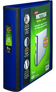amazon com staples 1 1 2 inch better view binders with d rings
