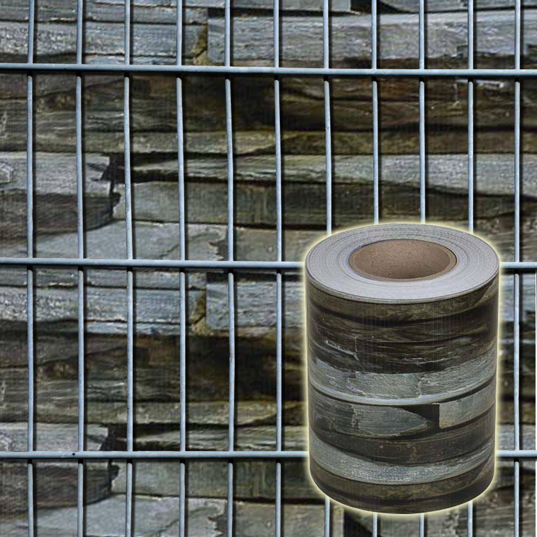 Nxtbuy Pvc Zaun Sichtschutzstreifen 35 M Rolle Wasserfest Uv