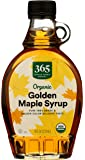 365 by Whole Foods Market, Organic Pure 100% Grade A Maple Syrup, Golden Color Delicate Taste, 8 Fl Oz