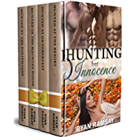 Hunting Her Innocence: A Virgin and Billionaires Reverse Harem Romance Series Collection (Hunted Series Book 3) (English…