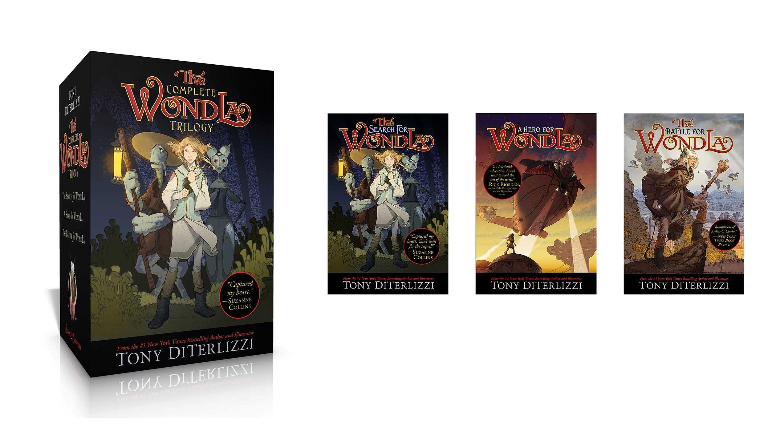 Theplete Wondla Trilogy: The Search For Wondla; A Hero For Wondla; The  Battle For Wondla: Tony Diterlizzi: 9781481499774: Amazon: Books