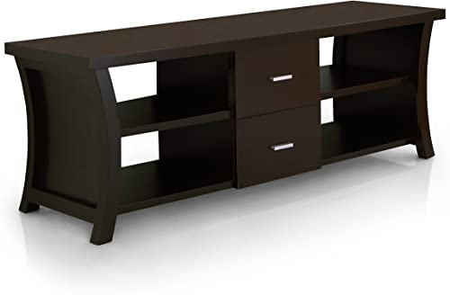 ioHOMES Autumn Contemporary 2-Drawer Rectangular Top TV Stand
