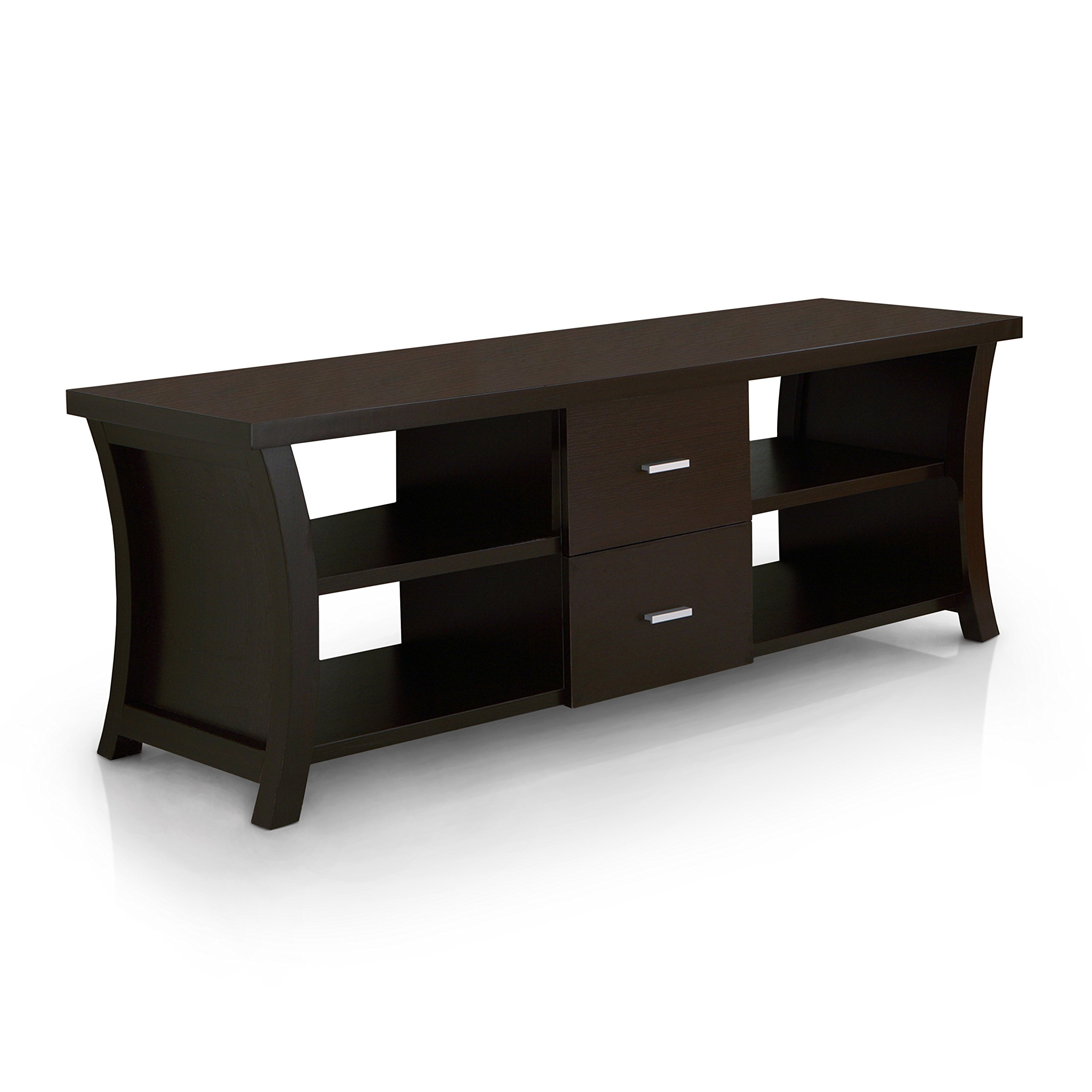 ioHOMES Autumn Entertainment Console with Drawer Storage, 60-Inch, Cappuccino