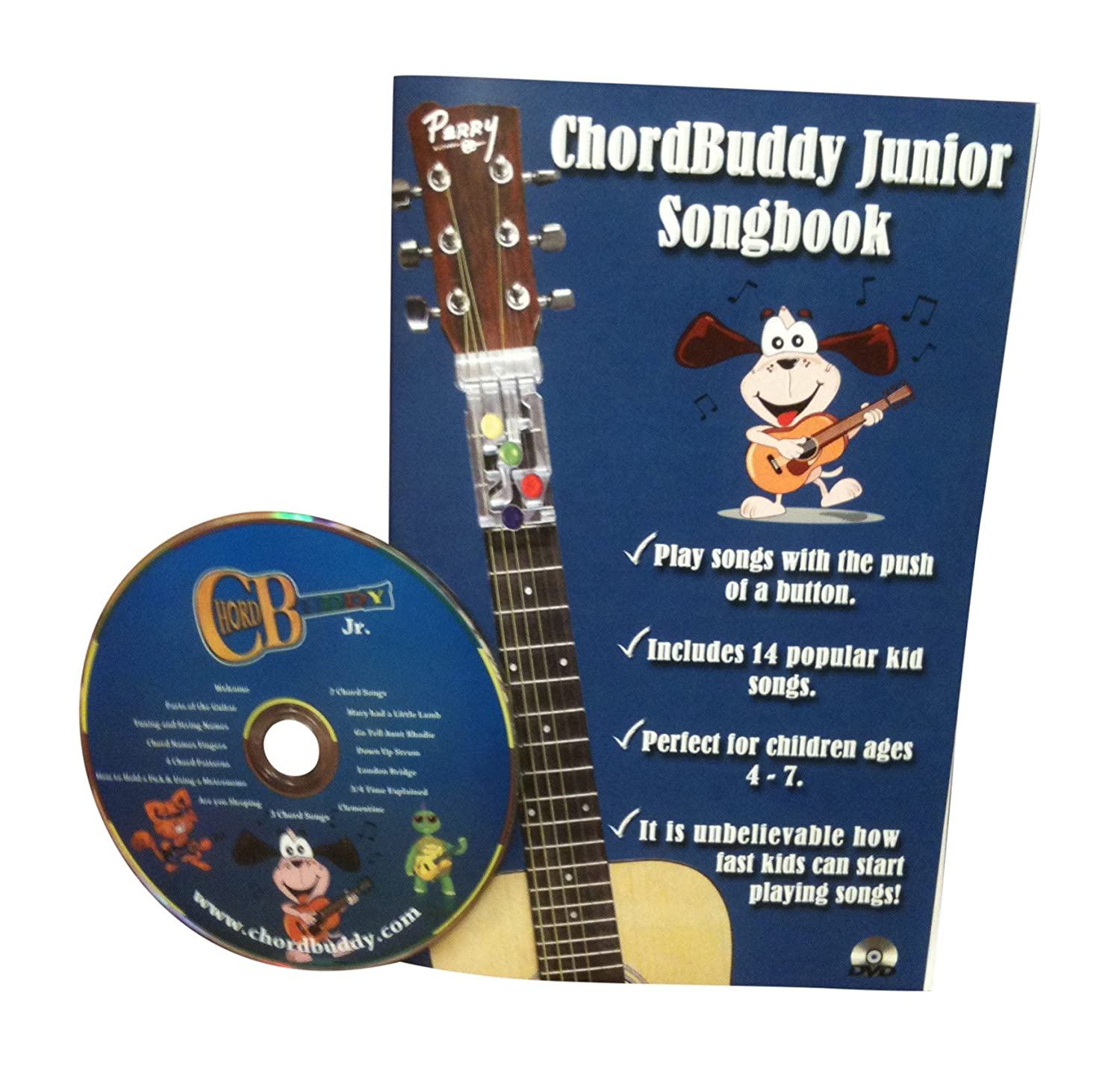 Amazon chordbuddy junior guitar learning kit includes amazon chordbuddy junior guitar learning kit includes chordbuddy device childs half size acoustic guitar tuner and picks musical instruments hexwebz Image collections