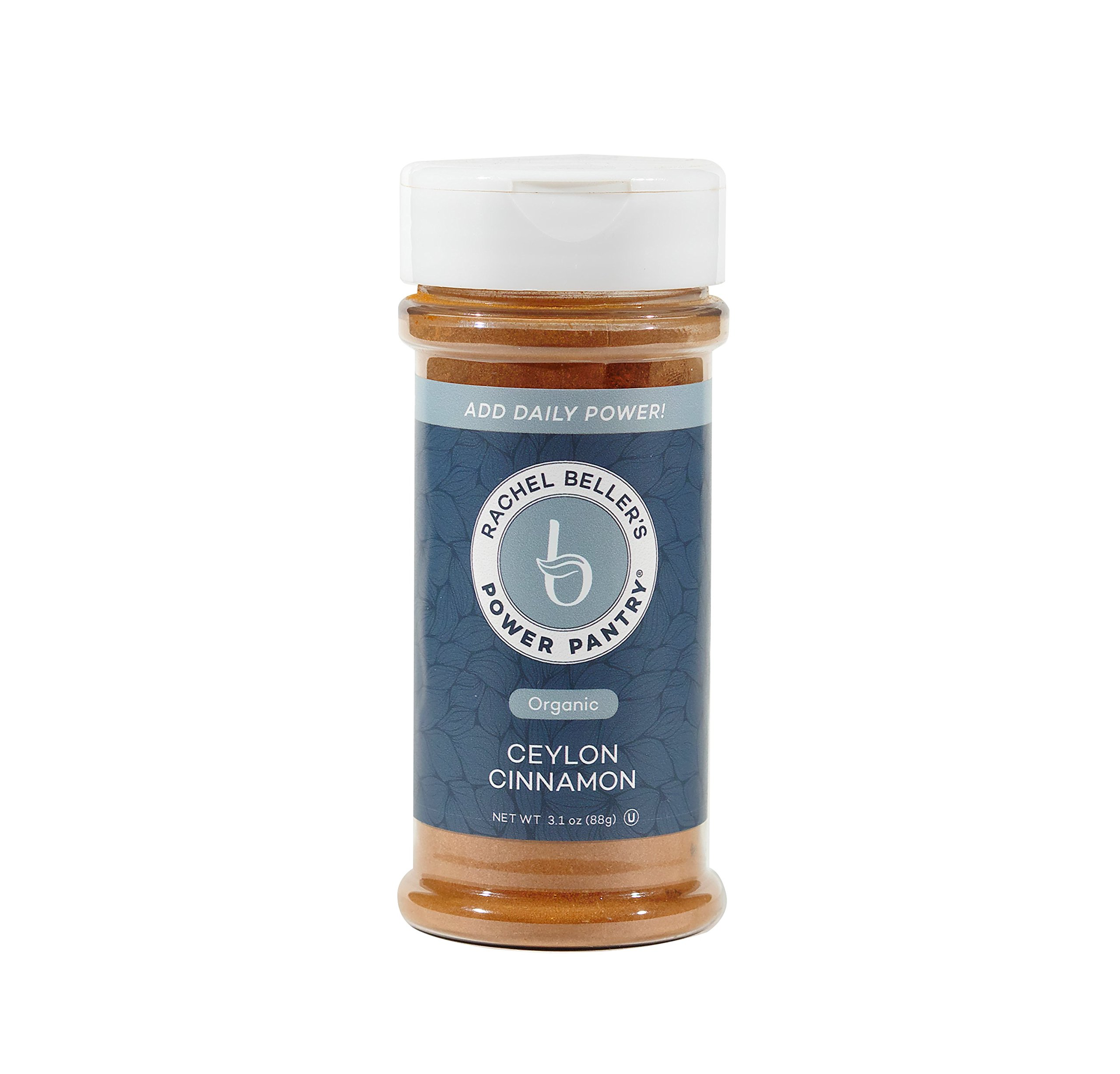 Rachel Beller's Power Pantry Ceylon Cinnamon - Organic Ceylon cinnamon spice, 3.1 ounce by Rachel Beller's Power Pantry (Image #1)