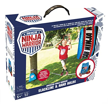 Amazon.com: American Ninja Warrior 34 Slackline with Hand ...