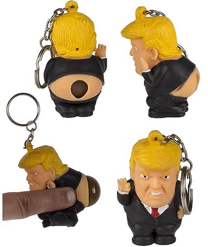 TOYLAND® Novedad Donald Trump Llavero apretable - Llavero ...