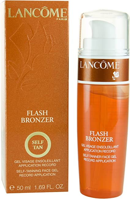 Lancome Flash Bronceador Self Tan Cara Gel 50 ml: Amazon.es: Belleza