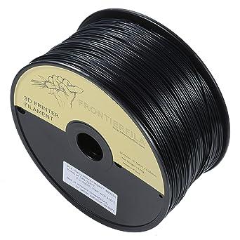 PLA 2kg 1.75mm negro - Filamento para impresora 3D - FrontierFila
