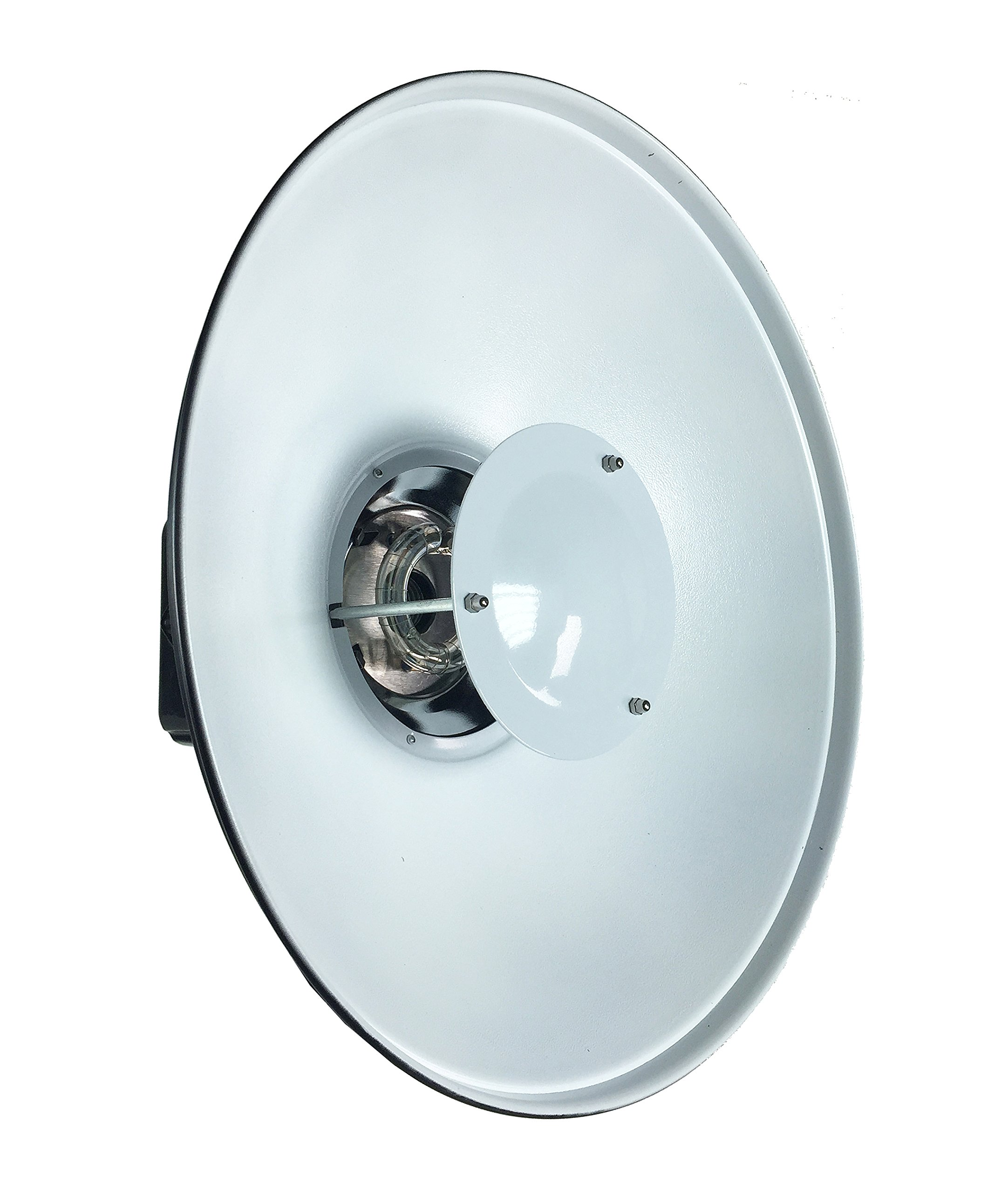 ePhotoInc 16'' White Beauty Dish for Balcar White Lighting & Alien Bees Alienbees Mount AB16H