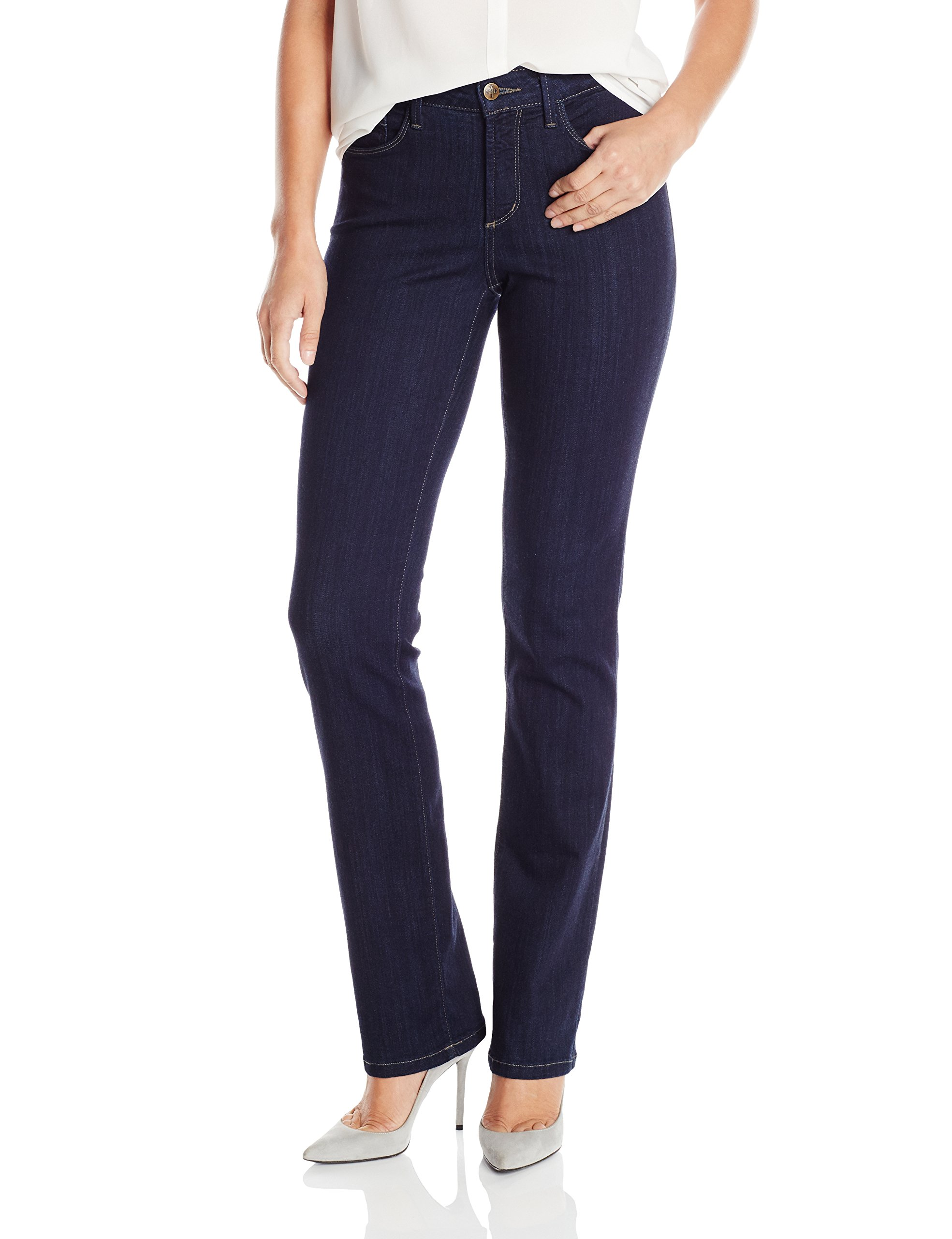 NYDJ Women's Marilyn Straight Leg Jeans In Sure Stretch Denim, Mabel, 14