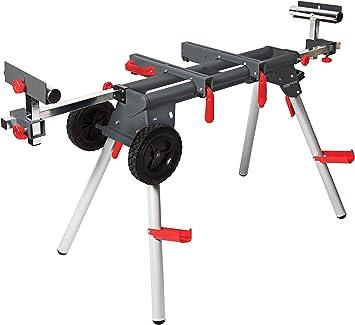 Folding Miter Saw Stand Universal Rail System Work Quick Machine Tool Mount Legs