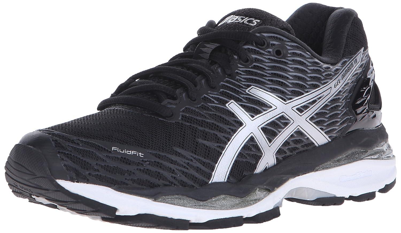 ASICS Women's Gel-Nimbus 18 Running Shoe B01BIGMW0A 13 B(M) US Black/Silver/Carbon